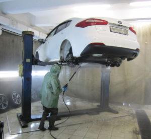 Антикоррозийная обработка автомобилей
