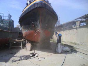 Гидроизоляция морских и речных кораблей